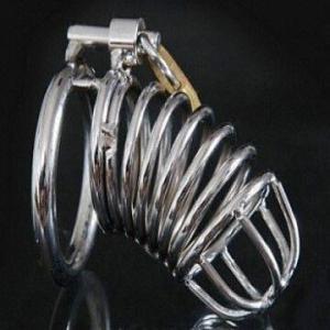 Chromed-Jail-House-MCD--3-Rings-Included-chastity-belt